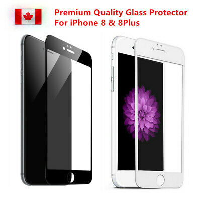 Premium 3D Curved Full Tempered Glass Screen Protector For iPhone 8 8Plus