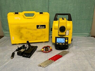 Leica Builder 229, 200 Series Reflectorless Total Station, 2013 Model with Case