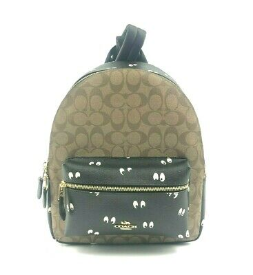 32986590 WOMENS COACH SIGNATURE Medium Charlie Backpack (New With Tags ...