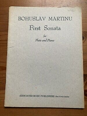 MARTINU - First Sonata Flute And Piano - Performance Music Svore
