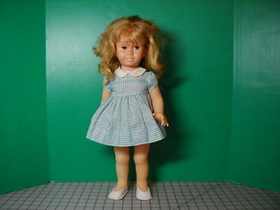 Mattel Chatty Cathy in Tagged Blue Gingham Party Dress #691