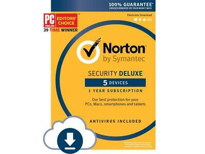 Norton Security with Antivirus Deluxe - 12 Month 2019 [Download Code]