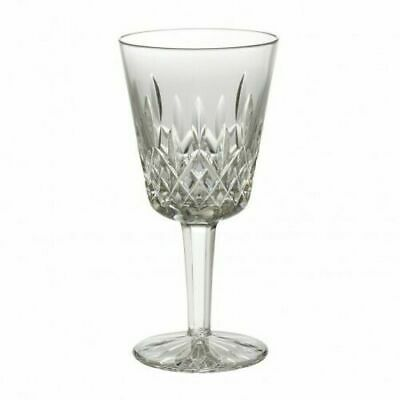 """Waterford Crystal Lismore Water / Goblet Glass 7""""  Mint!  Wine"""