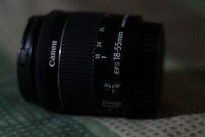NEW Canon EF-S 18-55mm f4-5.6 IS STM Lens