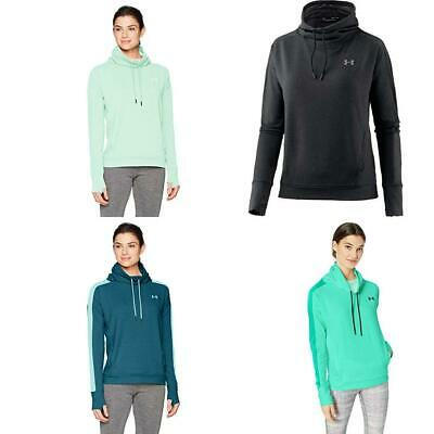 Donna Featherweight Fleece Funnel Maglia A Maniche Lunghe Under Armour