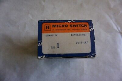Honeywell Micro Switch DTV6-2RN2 New Old Stock NIB