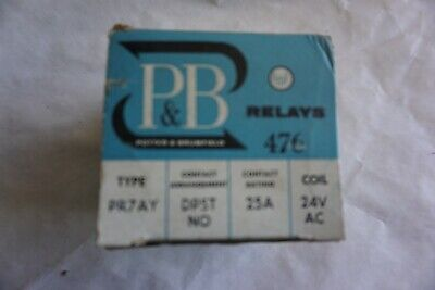 AMF / Potter & Brumfield  Relay 476 Type PR7AY 24V New Old Stock