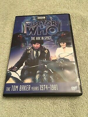 Bbc Video Doctor Who The Ark In Space 1974-1981 Tom Baker Years Dvd