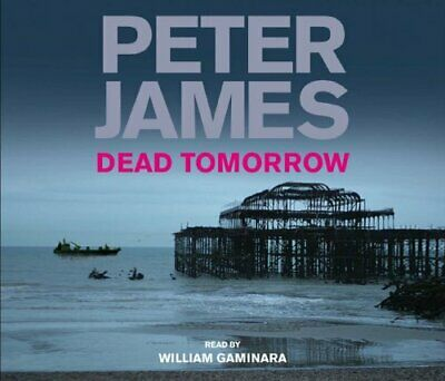 Dead Tomorrow by James, Peter CD-Audio Book The Cheap Fast Free Post