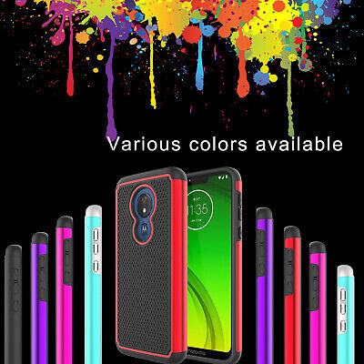 For Motorola Moto G7/Plus/Power/Supra/Play/Optimo Maxx Phone Case Armor Cover