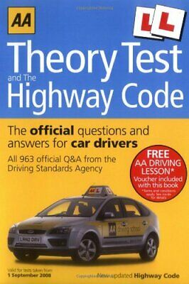 Theory Test and Highway Code (AA Driving Test Seri... by AA Publishing Paperback
