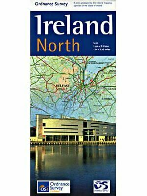 Ireland North Holiday Map Sheet map, folded Book The Cheap Fast Free Post