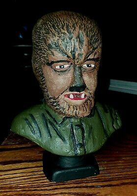 WOLFMAN Bust UNIVERSAL MONSTERS Rapco casting model  1970s wolf man werewolf