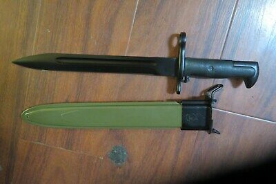 bayonet in scabbard  reproduction