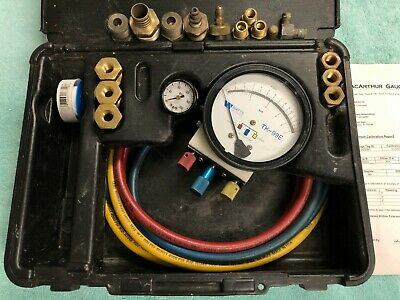 WATTS TK-99E Backflow Preventer Test Kit with Case, Hoses and Fittings