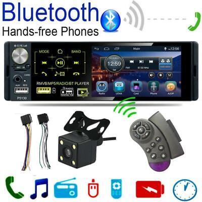 """4.1"""" Touch Screen Car Stereo MP5 MP3 Player RDS FM Radio BT USB TF Audio In-Dash"""