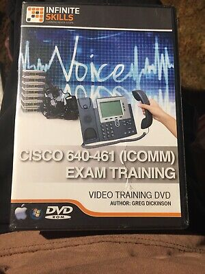 Learning  Cisco CCNA Voice 640-461 (ICOMM) Exam Video Training 8.3 hours