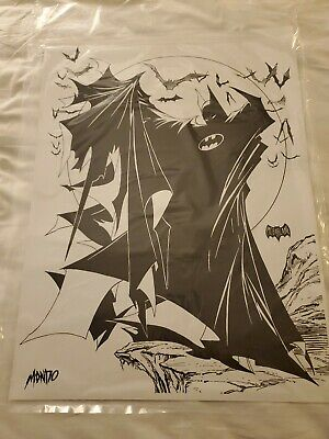 SDCC 2019 Mondo Litho Print Batman Todd McFarlane Exclusive DC VISA Power