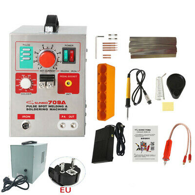 SUNKKO 709A Pulse Spot Welder Welding Soldering Machine for 18650 Welding Machin