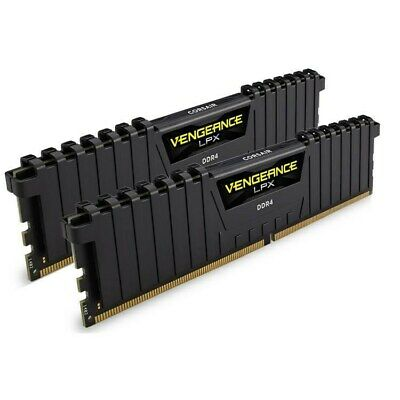 Corsair Vengeance LPX 16GB (2x 8GB) DDR4 3600MHz Memory Black