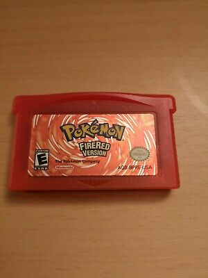 Pokemon FireRed Version (Nintendo Game Boy Advance 2004) - CART ONLY - AUTHENTIC