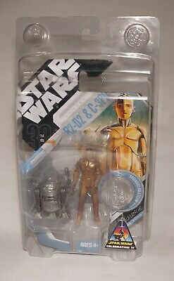 Star Wars Celebration IV Hasbro Exclusive R2-D2 & C-3PO McQuarrie Concept