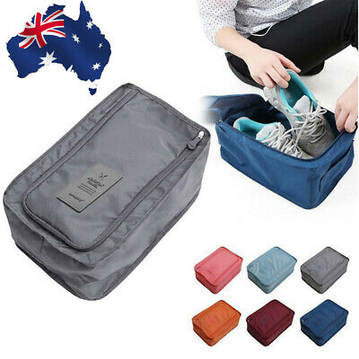 Travel Pouch Waterproof Laundry Shoe Portable Tote Storage Bag Shoe Organizer