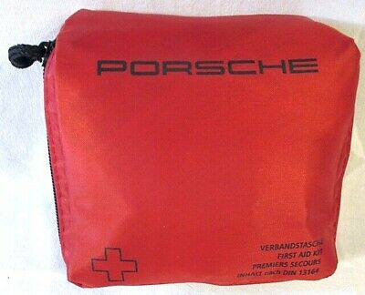 Porsche First Aid Kit Medical Bag Genuine Product New Free Post