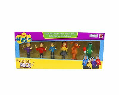 The Wiggles Licenced 6 Figure Pack Play Set Cake Topper Decorations