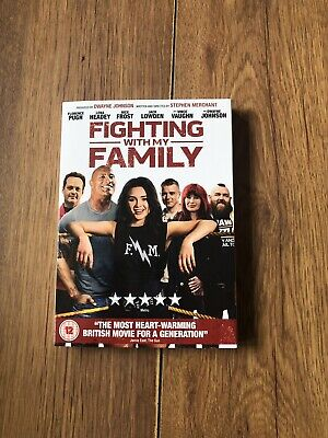 Fighting with my family. DVD