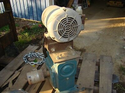 Dodge Tigear Worm Gear Reducer MO54268002ZR with 3/4 HP Electric Motor