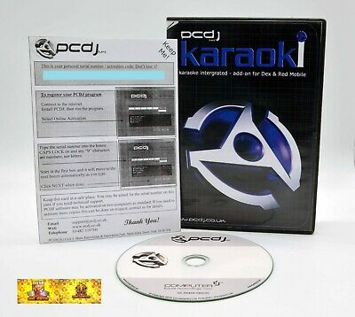 PCDJ -Karaoki  Professional Karaoke Show Hosting DJ Software DEX Red Mobile