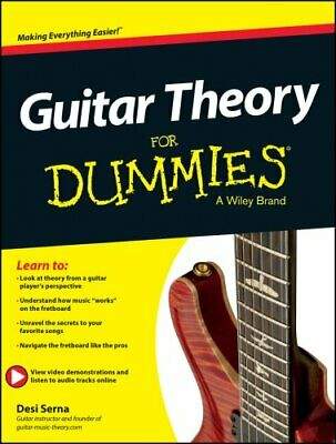 Guitar Theory For Dummies Book + Online Video & Audio Instruction 9781118646
