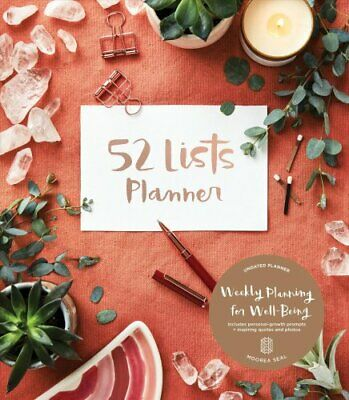 52 Lists Planner by Moorea Seal 9781632172341 | Brand New | Free UK Shipping