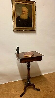 Quality Antique 19Th Century Mahogany Occasional, Wine,Work Table ,Delivery Avai