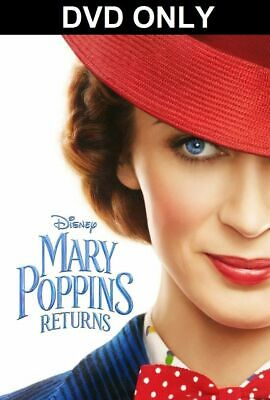 "MARY POPPINS RETURNS (DVD, 2019) ""Everything Is Possible..Even The Impossible!"""