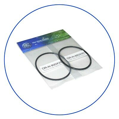Aquafilter Replacement Set O-rings OR-H10-1 For Water Filter Housing