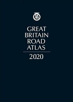 AA Great Britain Road Atlas 2020 (Leatherbound) 9780749581336 | Brand New
