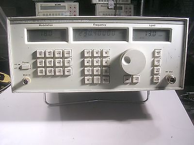 Wavetek 2500 Signal Generator Tested Good