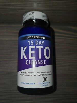 Keto pure colon cleanse Pill Weight loss supplement fat burn carb block!