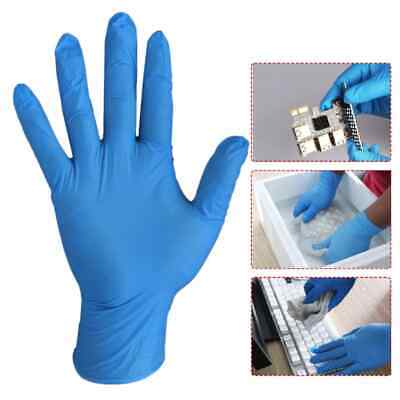 Blue Nitrile Disposable Gloves | Boxes of 100 | Latex Free SUPREME (Powder Free)