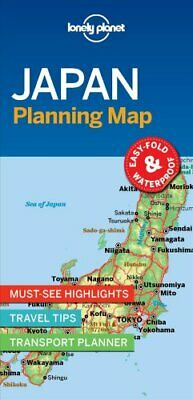 Lonely Planet Japan Planning Map by Lonely Planet 9781787014510 | Brand New