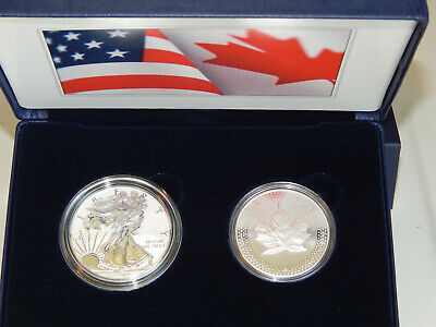 Pride of Two Nations 2019 W Limited Edition 2 Coin Set Item 19XB ~ SOLD OUT !!