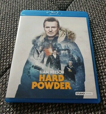 HARD POWDER  Blu-ray Wie neu ! TOP ZUSTAND! Liam Neeson (Cold Pursuit)