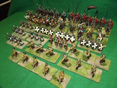 Painted 25mm E. Byzantine / Late Roman Army x90 Wargames old school Hinchliffe