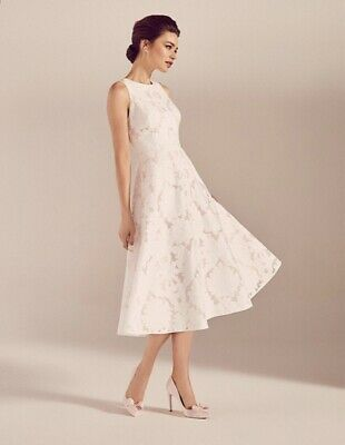 New Ted Baker Tie The Knot Weddingbridesmaid Dress Sz 2 Uk