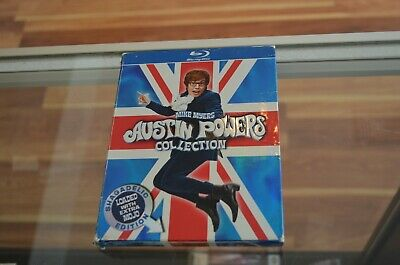 Mike Myers' Austin Powers Collection Blu-ray Shagadelic Edition Extra Mojo
