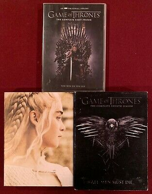 Game of Thrones: The Complete First, Fourth, and Fifth Seasons - 3 DVD Sets