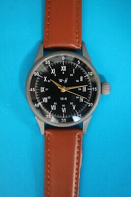 Vintage Watch Swiss Military LACO Waffen-SS ZZ DIVISION GERMAN ARMY WWII 1940`S