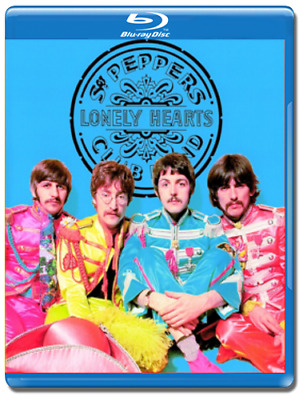 The Beatles Sgt. Pepper's Lonely Hearts Club Band Blu-Ray